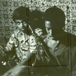 Azar Lawrence, alto sax, and Ray Straughter, tenor sax, at the Sun, early 1970s. (© Kamau Daáood)