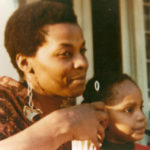 Linda Hill with her niece, Patricia E. Hill, early 1970s. (© Patricia E. Hill)