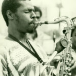 Fuasi Abdul-Khaliq at South Park, South Central Los Angeles, mid-1970s (© Myko Clark, courtesy of the Horace Tapscott Archive)