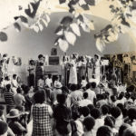 UGMAA (Arkestra) in concert at South Park, late 1960s. (© Kamau Daáood)