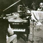 Horace Tapscott Trio performing live at the Lobero Theater in Santa Barbara, California, 12 November 1981. L to R: Horace, piano; Roberto Miranda, bass; Sonship Theus, drums. (c Mark Weber)