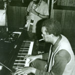 Nimbus recording session for Billie Harris' I Want Some Water, 1983. Billie, soprano sax; Horace, piano. (© Mark Weber)