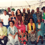 The Great Voice of UGMAA at Malcolm X Festival 1998 (Courtesy of the Horace Tapscott Archive)