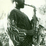 Arthur Blythe soloing at South Park, late 1960s. (© Kamau Daáood)